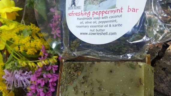 Ancient Blends Natural Peppermint Soaps