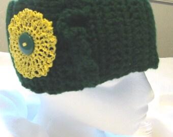 Hand Crocheted Headband / Ear Warmer (Adult / Regular)