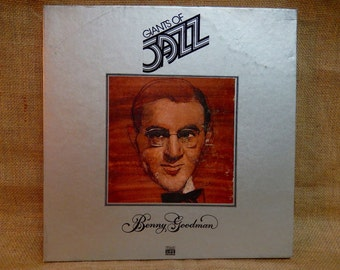 BENNY GOODMAN - Giants of Jazz - 1979 Vintage Vinyl 3 lp Boxed Record Set...Includes 48 Page Booklet