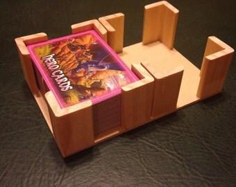 Wooden Card Holder