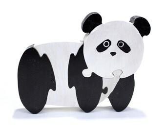 Handmade Panda Puzzle and Children's Room Decor