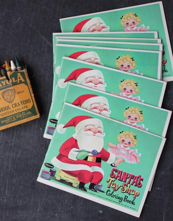 santas toy shop coloring pages - photo#32