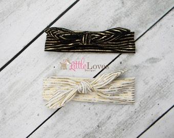 Baby Headband- Knot Headwrap- Knotted Headband- Baby Turban Headband- Top Knot Headband