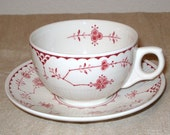 Franciscan Erica Cup & Saucer in Pink