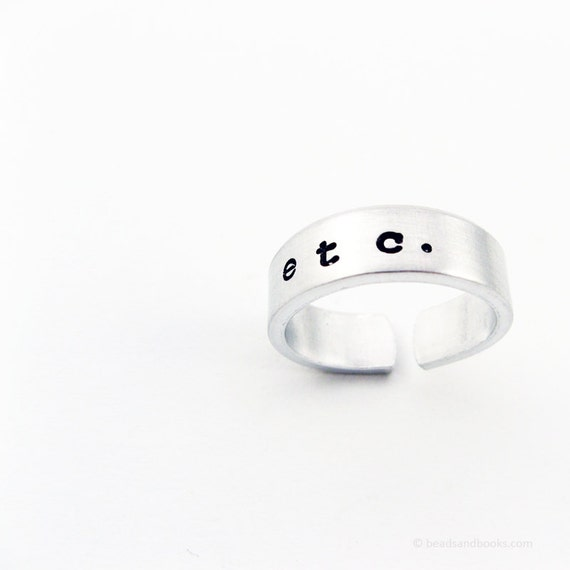 Etc. Ring (Writer Jewelry)