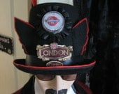 Awesome Piccadilly Circus Vintage Steampunk Cosplay Unisex Halloween Costume