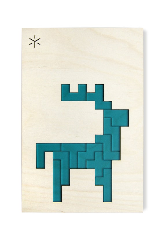 Caribou pentomino puzzle for Bright beam goods