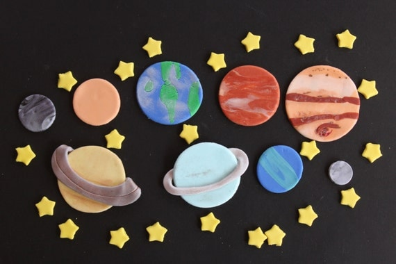 planets cake toppers-#17