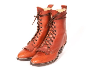 LAREDO Packer Boots Women's Size 7 .5 M