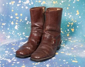 1960's MONKSTRAP Boots Size 11