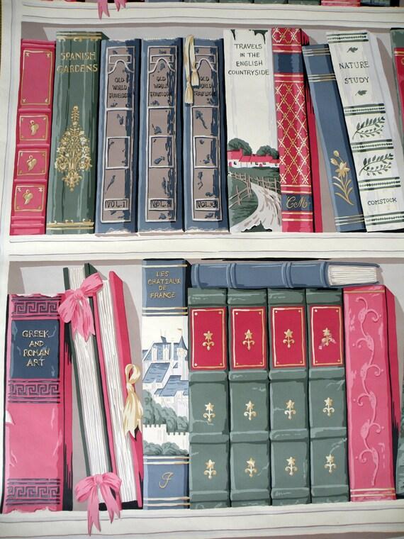 1 rotolo carta da parati parete murales libri personalizzati for Carta da parati libri
