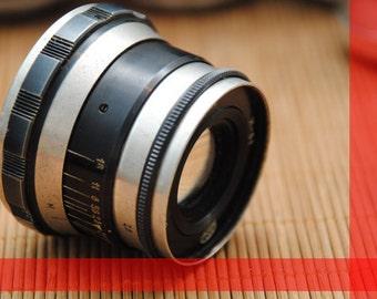 1969 Vintage ZEBRA Industar 61 2.8/52mm Leica screw M39 Zorki FED RF Ukrainian Lenses