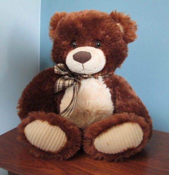 large musical bears for sale 14 inch plush stuffed animal. Black Bedroom Furniture Sets. Home Design Ideas