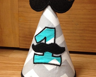 1st Birthday Mustache Hat
