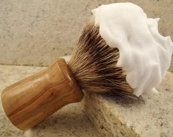 Shaving Brush Free Engraving Wet Shavers love a badger