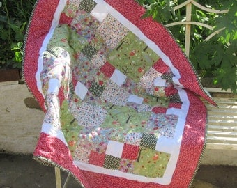 Patchwork Quilt Kit with full instructions