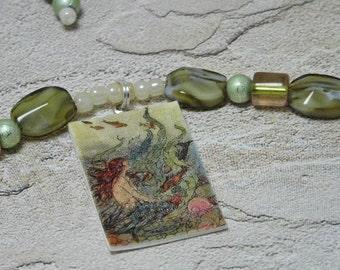 Island Mermaid Necklace Set