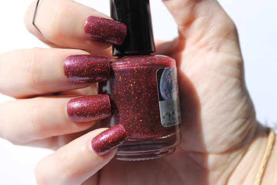 Caprica 6 nail polish by Comet Vomit
