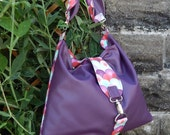 Cute Reversible Hobo bag PDF Sewing Pattern by Mrs H