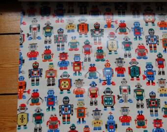 Cath Kidston Robots Oilcloth 34cm x 50cm