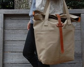 The Porter Tote - khaki