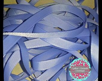 """3/8"""" Iris Grosgrain Ribbon Sold in 5 Yard Increments"""