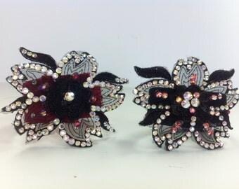 Swarovski Crystals Dance Accessories 2 bracelets    Dance Bracelets