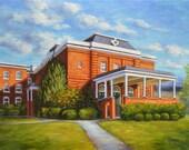 Fine Art Print- Alumnae Auditorium, Historic Judson College, Marion, Alabama