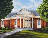 Fine Art Print- Mead Hall, Historic Judson College, Marion, Alabama