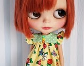 Colorful Flowers summer dress for Blythe
