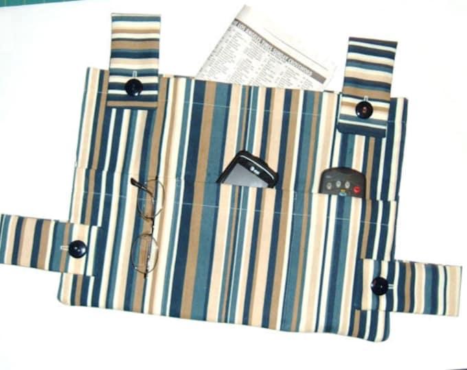 Masculine Walker Bag -Custom Walker Caddy - Gift for Grandpa - MADE TO ORDER