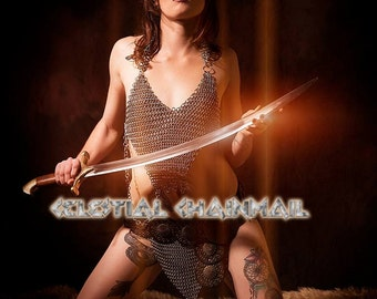 Rugged Chainmail Armor top