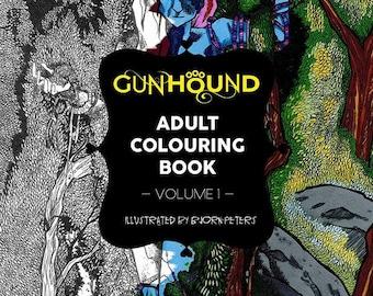 Gunhound Adult Colouring Book - Volume 1