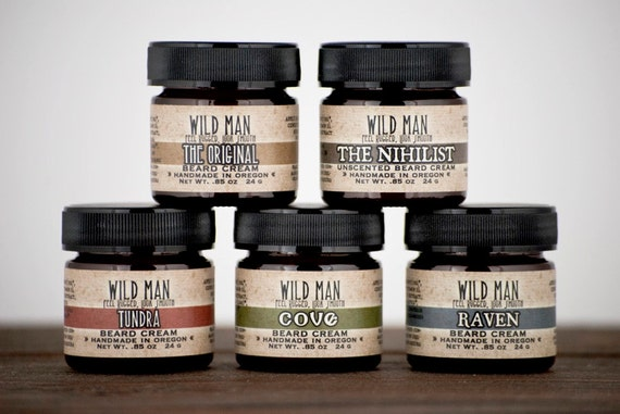Image of Wild Man Beard Cream Scents