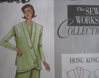 The Sewing Workshop Collection HONG KONG VEST    Uncut