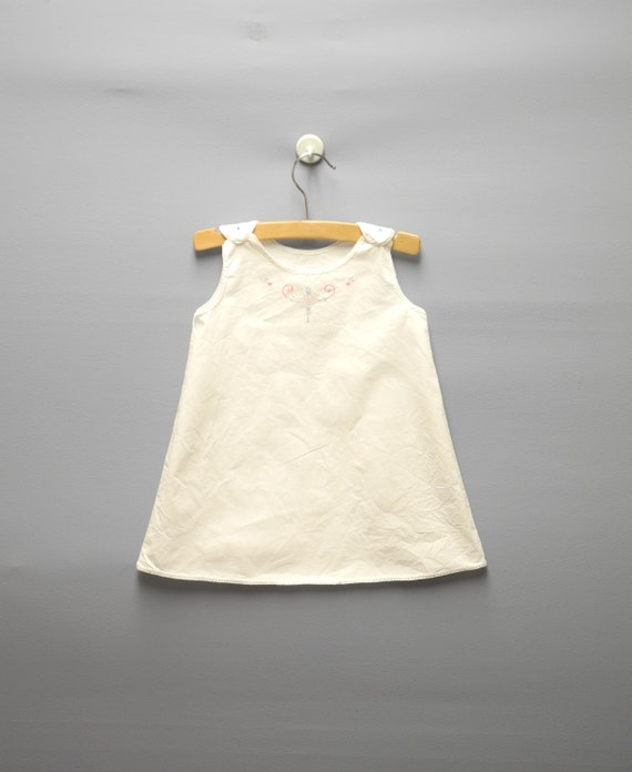 vintage baby clothes 1930 s handmade white cotton