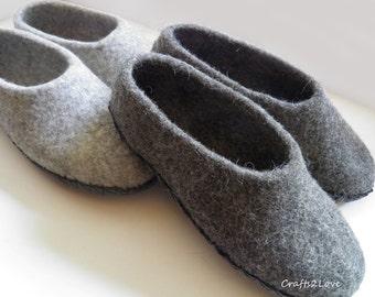Womens felt slippers | Etsy