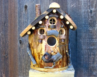 Rustic Maple Birdhouse #7