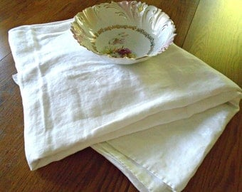 Huge Damask Tablecloth / Vintage White Damask / White Cotton Tablecloth / Seashell Pattern / Floral Damask / Wedding Tablecloth / Extra Long