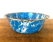 Vintage enameled bowl