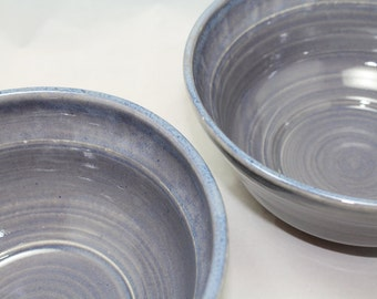 A Bowl for Serving - Med to Large Bowl in Transparent Blue One remaining