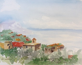 Amalfi Original Painting