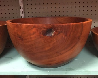 14 7/8 Wide Tennessee Cherry Fruit Bowl