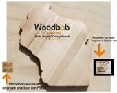 12'' Wisconsin personalized cutting board cutting boards wood cutting board wooden cutting board cutting board personalized engraved gifts