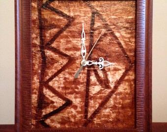 Tapa Wall Clock