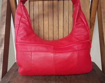 CHERRY   ///   Leather Purse