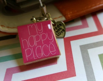 My Happy Place Planner Charm
