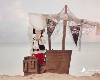 FREE SHIPPING Pirate Ship Photo Prop