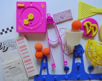 Vintage Nickelodeon Double Dare Challenge Game 1987
