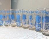 Vintage Freemason - Shriners - Masonic Glasses - Convention Barware 1976